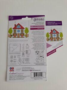 Gemini create a card house die