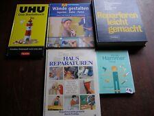 Konvolut Bücher Heimwerker Basteln Selber machen Ratgeber  (r144)