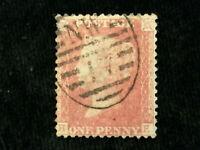 Großbritannien ab 1855 - Königin Victoria; Sternenkreuz in den oberen Ecken