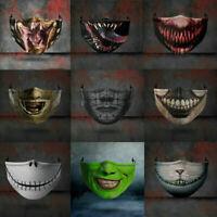 Behelfsmaske Mundmaske Stoffmaske Baumwolle Mund Maske Gesichtsmaske L/P