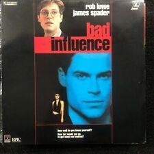BAD INFLUENCE Laserdisc LD [13515]