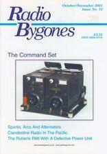 Radio Bygones No 73 Oct/Nov 2001 Command Set Clandestine Rad Pacific Roberts R66