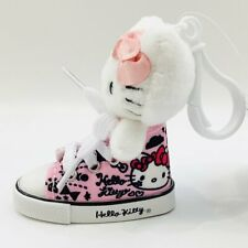 Sanrio Hello Kitty Pink Sneaker High Top Shoe Plush Doll Mascot Keychain