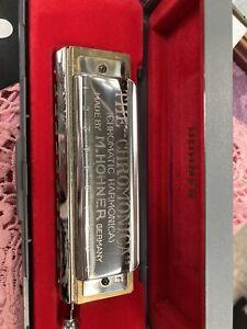 Hohner Chromonica 260 key of G chromatic harmonica- Excellent Condition