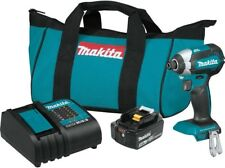 Makita Impact Driver Kit 18-V Li-Ion Brushless Cordless Powerful Lightweight New