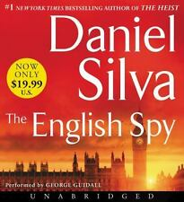 THE ENGLISH SPY unabridged audio book on CD by DANIEL SILVA - Brand New!