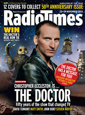 Radio Times 50 ANNIVERSARY Doctor WHO Christopher Eccleston,Sarah Millican NEW