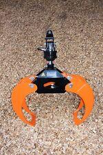OH 018 + FHR Verladezange-Holzzange-Rückezange-Rotator-Holzgreifer-Rückewagen-