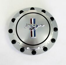 NEW 1964-1973 Ford Mustang Gas Cap Twist on Style Billet & Silver Resto Mod Look