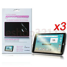 3Pack Clear Screen Protector Film For LG G Pad F 8.0 AT&T V495/T-Mobile V496