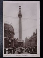 London THE MONUMENT c1908 RP by Davidson Bros 5033-2