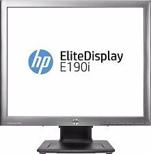"""MONITEUR PC / ECRAN LED HP EliteDisplay E190i -19""""-Sans pied -pour support mural"""