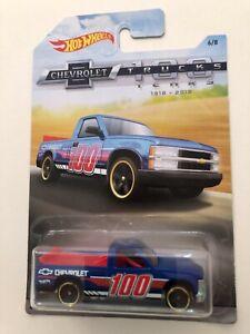 Hot Wheels - Chevy 1500 (Blue) [6/8 - 2018 HW Chevrolet Trucks 100 Years]