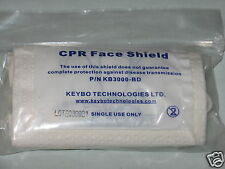 CPR Face Shield Barrier Protection Mask with First Aid Medical Supplies