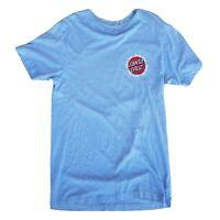 Mens Santa Cruz Skateboards Blue Tshirt Size M Medium