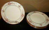 """(5) Noritake BRENTLY 10 1/2"""" Dinner Plates"""