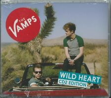 THE VAMPS - WILD HEART / A THOUSAND YEARS 2014 UK CD2 SINGLE FACTORY SEALED