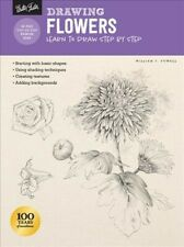 Drawing Flowers : Learn to Draw Step by Step, Paperback by Powell, William F....