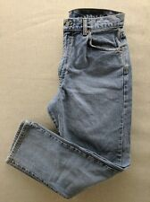 Calvin Klein Womens 14 Light Washed Straight Leg Casual Everyday Western Denim