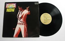 ELVIS PRESLEY Elvis Now LP RCA Rec LSP-4671 US 1972 VG++ RE-ISSUE 11A