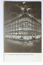 Old postcard DONALDSON'S GLASS BLOCK, MINNEAPOLIS, MINNESOTA, 1907