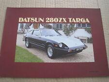 DATSUN-NISSAN 280ZX TARGA BROCHURE 1983