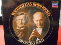 RICHARD WAGNER DAS RHEINGOLD GEORG SOLTI 1984 3 DISCS W/LIBRETTO
