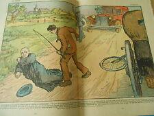 Un prête attaqué et sauvagement frappé par un extrémiste déséquilibré Print 1937