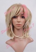 W11 Caramel Blonde Ombre Mix Ladies Wig Medium Length Permatease Top- studio7-uk