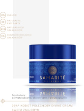 Samarite Face and Eyes Divine Cream  Day Night 45ml natural, hit 48 hour