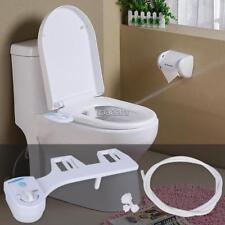 Fresh Water Spray manual Non-Electric Bidet Toilet Seat Attachment Flow Adjust F