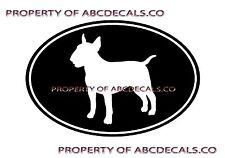 Vrs Oval Dog Bull Terrier Puppy Adoption Puppy Rescue Car Decal Vinyl Sticker