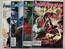 Future's End #1 2 3 4 New 52 DC Comic 1st print unread NM