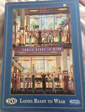 Rare Ladies Ready To Wear 1500 Piece Jigsaw By Michael Young Gibsons Fashion