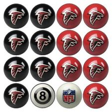 NEW Licensed NFL Atlanta Falcons Football Billiard Pool Cue Ball Set FREE SHIP