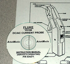 FLUKE Y8100  Current probe Instruction (Service & Operating) Manual