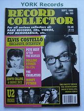 RECORD COLLECTOR MAGAZINE - Issue 193 September 1995 - Elvis Costello / U2