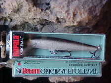 "Rapala 3 1/2"" Original Floating F09 Color (Silver) for Bass/Walleye/Pike/Trout"