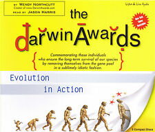 The Darwin Awards One 3-CD Audiobook - Wendy Northcutt - NEW - FREE SHIPPING