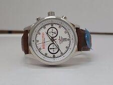 Riedenschild men's evolution 1119-01-K02 chronograph watch with white dial new