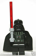 Lego Minifigure Star Wars Darth Vader (Original Head) & Light Saber New Genuine