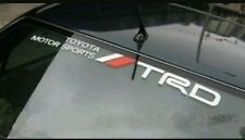 Toyota TRD tickers Windshield Decals Window Banners