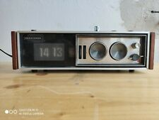 Vintage Radio Clock [NATIONAL PANASONIC RC-7469B] -- SPACE AGE