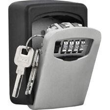 CASSAFORTE di sicurezza 4 cifre Wall Mount Holder password Gancio Storage CHIAVE SERRATURA BOX CASE