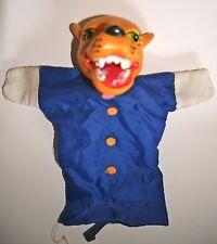 Marionnette allemande 1960 s WOLF main/gant marionnette-Punch & Judy Kasper
