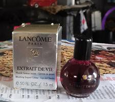 Vintage Lancome Extrait De Vie Blushing Liquid Colour For Lips & Cheeks