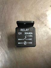 Relay 100 Pack Spdt 12 Volt 30/40 Amp Heavy Duty Relay Plastic Tabbed