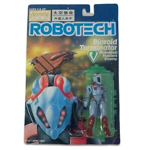 Robotech Defense Force Bioroid Terminator Carded Matchbox Harmony Gold Anime Toy