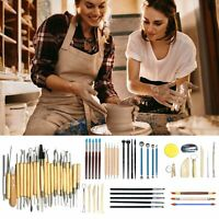 61pcs Ceramic Tools Set Clay Sculpting Carving Modeling Combination Tool Kit Set