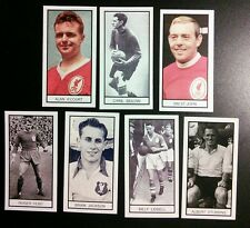 LIVERPOOL Group of 7 Memory Lane UK trade cards ST JOHN LIDDELL HUNT A'COURT